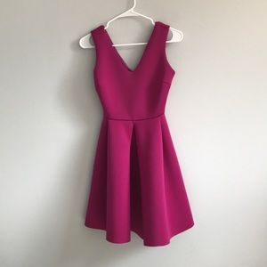 Pink Bridesmaid or Wedding Guest Dress